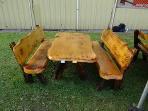 5 foot pine table