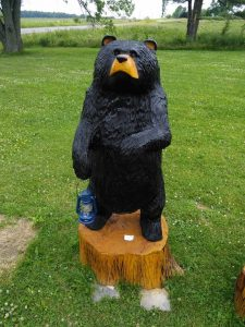 4 foot full body bear