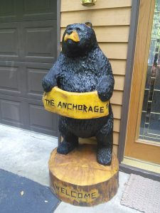 5 foot sign bear